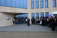 Wszystkich zebranych gości oraz pracowników Perfand i Perfand LED przywitał właściciel nowej fabryki Andrzej Trawiński.