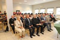 W inauguracji roku akademickiego UTW w Trzebnicy uczestniczyli zaproszeni goście oraz studenci.