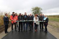 W ubiegłym roku powstał blisko trzykilometrowy odcinek drogi łączącej Brzyków ze Szczytkowicami.