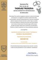 Galeria Prof. dr hab. inż. Tadeusz Trziszka