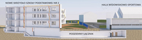 Galeria Pierwszy krok w kierunku planowanej rozbudowy