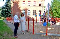 Galeria Nowy Plac Zabaw dla Uczniów Szkoły Podstawowej w Masłowie