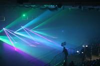Galeria Muzyczna niespodzianka i pokaz laserowy