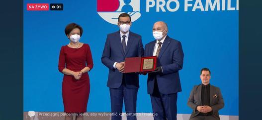 Gmina Trzebnica finalistą konkursu Samorząd Pro Familia 2021