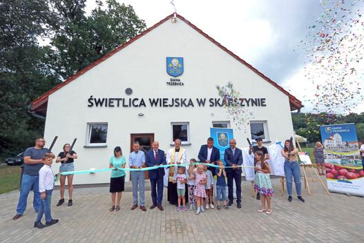 Nowa świetlica w Skarszynie oficjalnie otwarta